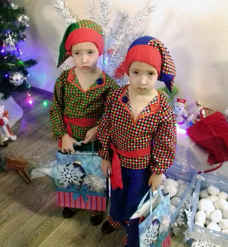 двойняшки в детском саду