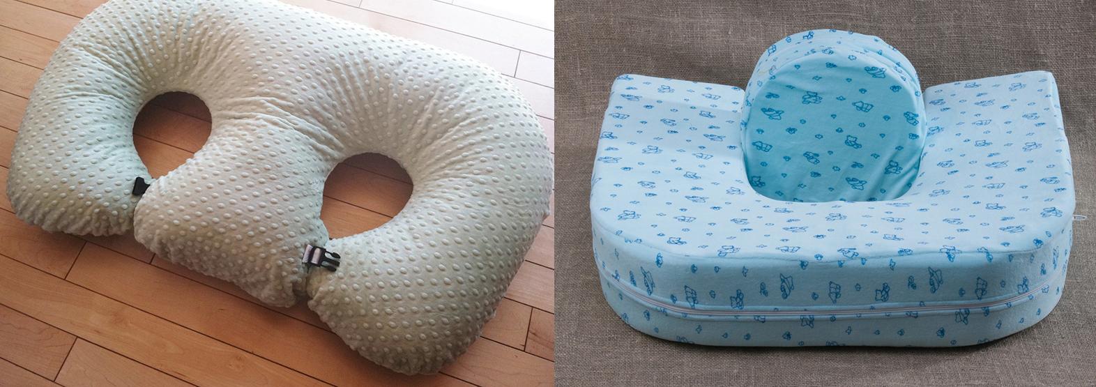 Подушки для кормления двойняшек