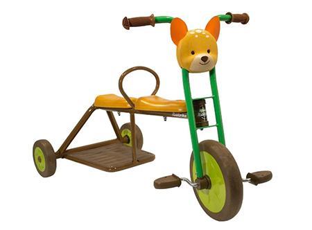 Трехколесный велосипед Italtrike для двойни