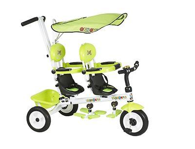 велосипед для двойни Small Rider Two Kings