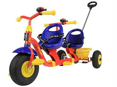 Велосипед для двойняшек и погодков Kettler Tandem