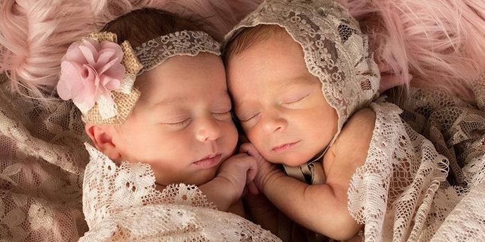 Вес и рост двойни (близнецов) при беременности и рождении